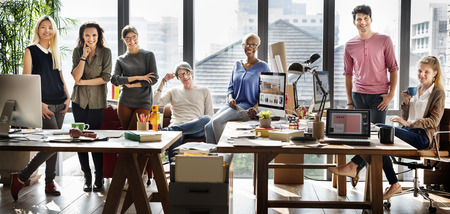 Arbeit Business Team Kollegen Meeting-Konzept