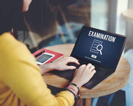 investigation: Examination Results Discovery Investigation Concept
