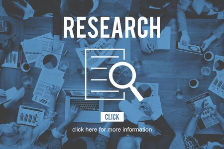 investigation: Research Analysis Discovery Investigation Concept
