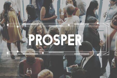 prosper: Prosper Success Development Achievement Improvement Concept