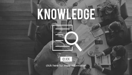 investigación: Conocimiento Investigación Investigación Descubrimiento Foto de archivo
