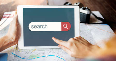 web directories: Search Engine Browser Find Looking Concept Stock Photo
