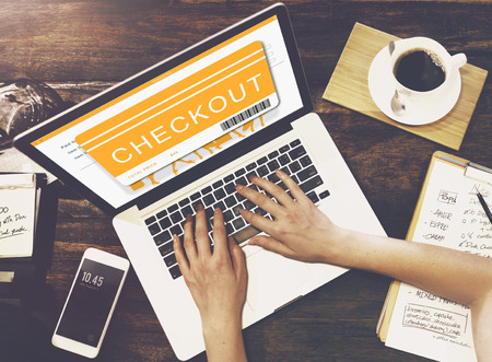 web shopping: Shopping Online Order Purchase Buying Concept