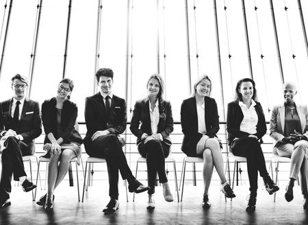 Recruitment Resume Office Skill Employment Concept Zdjęcie Seryjne
