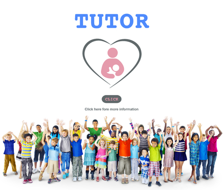 Tutor Training Education Intelligence Tutoring Concept Stock Photo