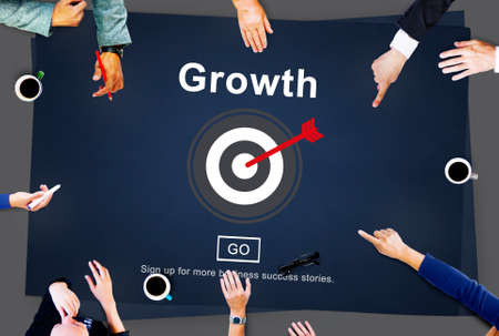 Growth Progress Development Icon Concept