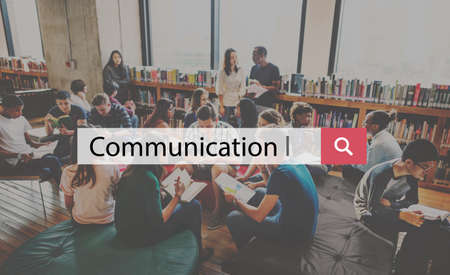 meaning: Communication Connection Information Meaning Concept Stock Photo