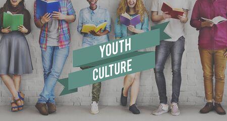 adolescencia: Youth Culture Lifestyle Adolescence Generation Concept