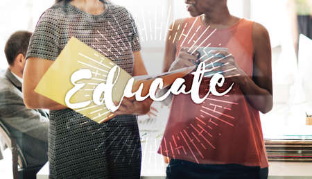 perceptive: Educate Learn Knowledge Education Learning Concept Stock Photo