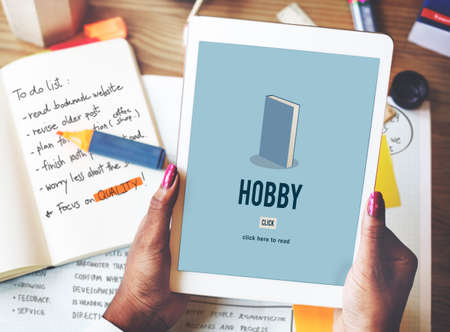 hobby: Hobby Education Academic Knowledge Book Study Concept