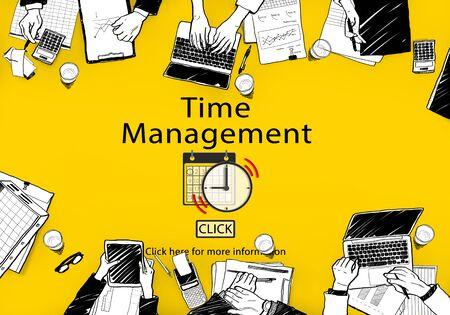 Time Management Schedule Notes Imporant Task Concept
