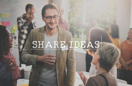 socialize: Share Connection Information Networking Social Concept