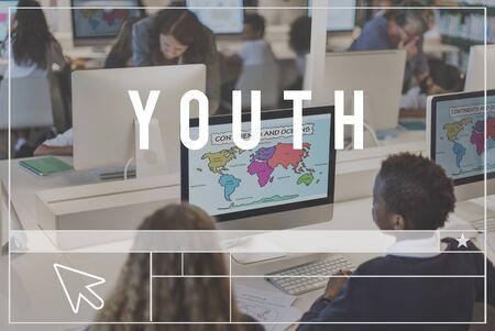 adolescencia: Adolescencia Generación Cultura juvenil Estilo de Vida Foto de archivo