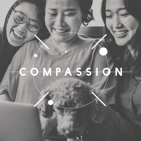 compassion: Compassion Assistance Care Relation Support Concept Stock Photo