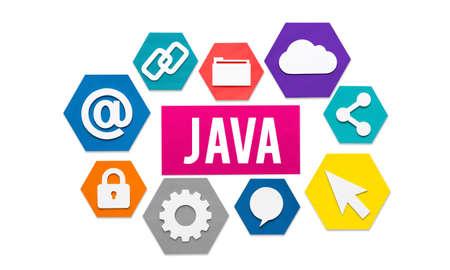 html: Java HTML Website Information Data Concept