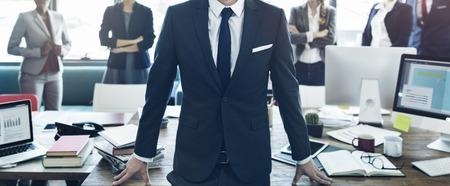Werknemer Werknemers Collega's Teamwork Management Concept Stockfoto