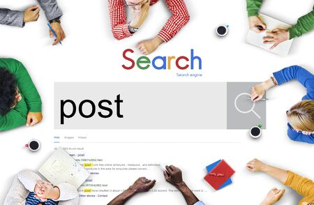 posting: Post Postal Posting Information Content Mail Social Concept
