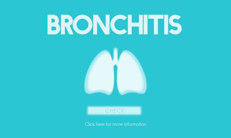 cancer symptoms: Lungs Medicine Pneumonia Asthma Bronchitis Concept Stock Photo