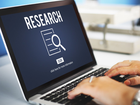 scrutiny: Research Analysis Discovery Investigation Concept