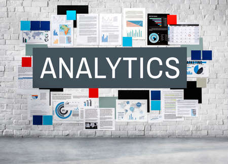 Analytics Statistics Analyze Data Analysis Patterns Concept