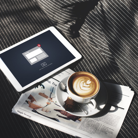 hot news: Hot News Newsletter Announcement Daily Concept