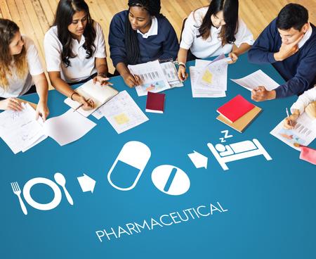 医療衛生薬学の適切なケアのコンセプト
