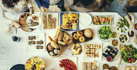 kulinarne: Food Cuisine Culinary Buffet Party Concept