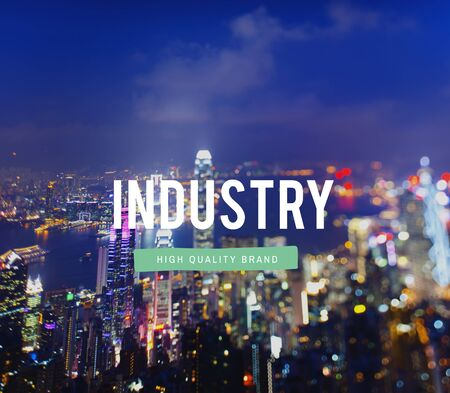 commerce and industry: Industry Production Commerce Business Manufacture Concept