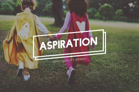 aspire: Aspiration Ambition Aspire Goals Target Vision Concept