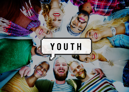 labelling: Youth Culture Teen Age Fun Concept Stock Photo
