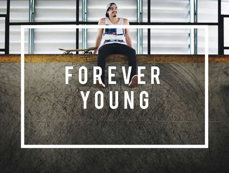 forever: Forever Young Stay Young at Your Heart Fun Concept
