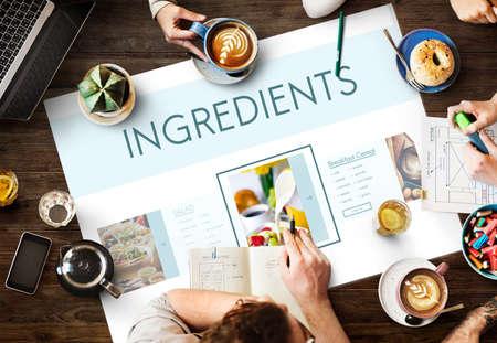 buen vivir: Healthy Foods Wellbeing Lifestyle Nutrition Concept