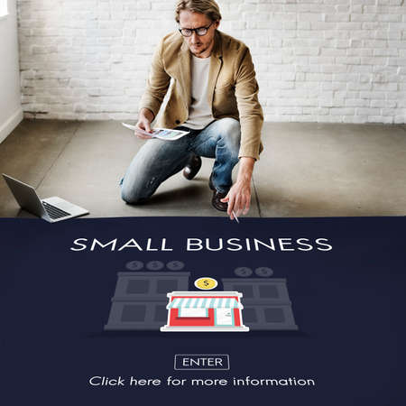ownership: Small Business Niche Market Products Ownership Entrepreneur Concept