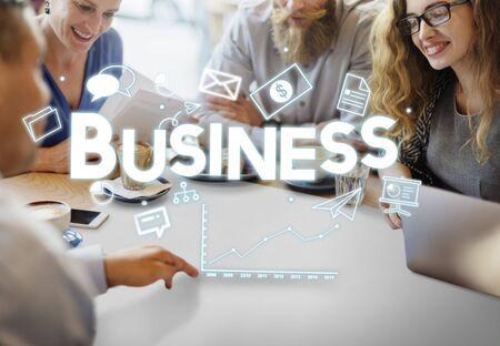 meet up: Business Businessman Money Growth Concept