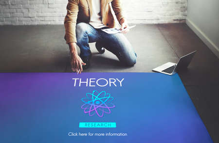 theory: Theory Balance Experimental Function Science Concept Stock Photo