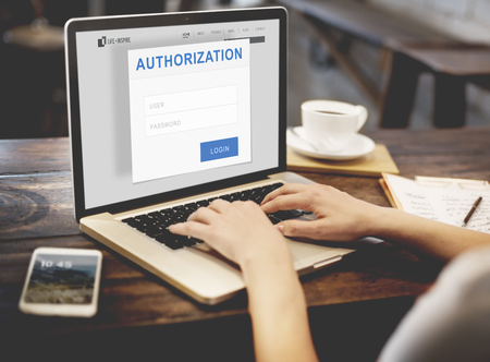 authorization: Authorization Permission Accessible Security Concept Stock Photo
