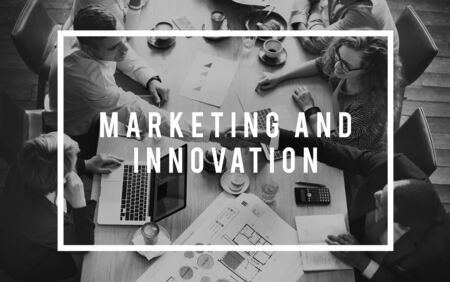 invention: Marketing Innovation Digital Technology Invention Concept