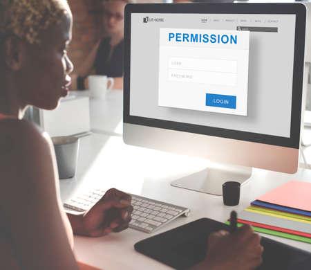 authorization: Permission Authorization Accessible Security Concept