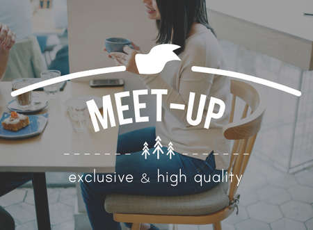 meetup: Meet-Up Convention Discussion Planning Strategy Concept