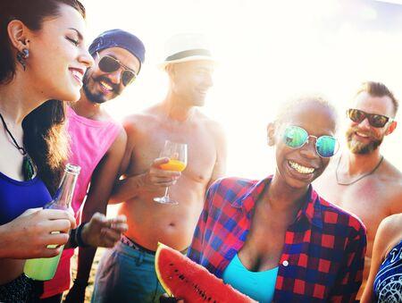 melon field: Party Friendship Celebration Drinks Beverages Concept