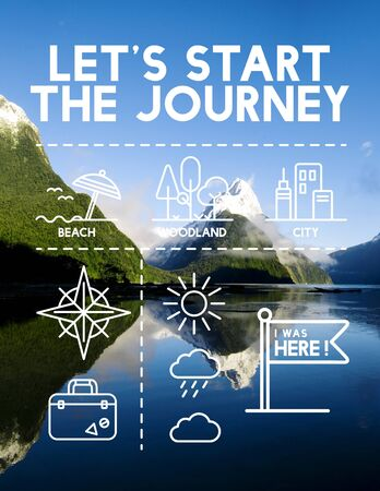 pinpoint: Location Mapping Journey Navigation Concept Stock Photo