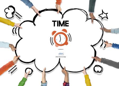 duration: Time Alarm Deadline Countdown Concept Stock Photo