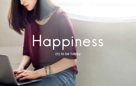 playful: Happiness Cheerful Enjoyment Leisure Playful Concept
