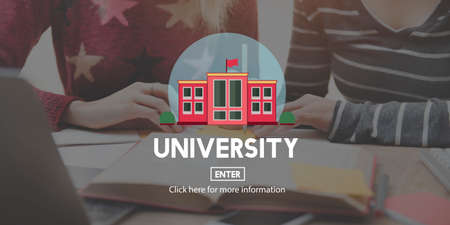 researches: University College Diploma Degree Education Concept