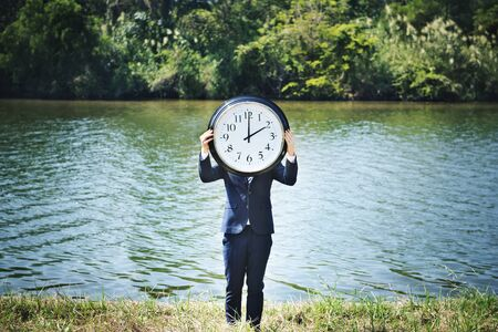 duration: Time Timing Management Schedule Organisation Concept Stock Photo