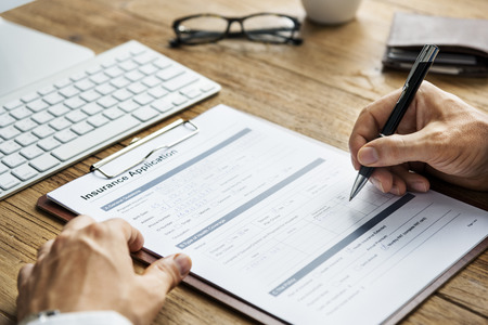 medical questions: Health Life Insurance Application Form Concept