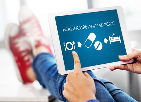 finding a cure: Healthcare Medicine Medication Medical Health Concept