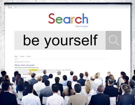 self esteem: Be Yourself Self Esteem Confidence Encourage Concept