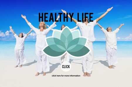 Health Healthy Life Wellness Life Nutrition Concept Stock Photo