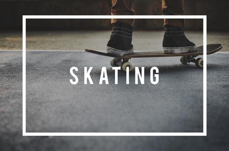 skater boy: Skater Boy Skating Skateboarding Extreme Sport Concept